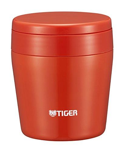 タイガー魔法瓶真空断熱スープジャー250ml保温弁当箱広口まる底チリレッドMCL-B025-RCTiger