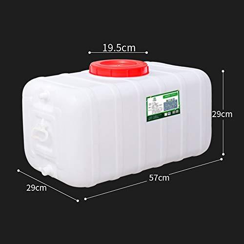 Guoda Wasserkanister| PE-Material In Lebensmittelqualität | Hochtemperaturbeständigkeit | Niedertemperaturbeständigkeit | Mehrzweck | Weiß (Size : 48L)