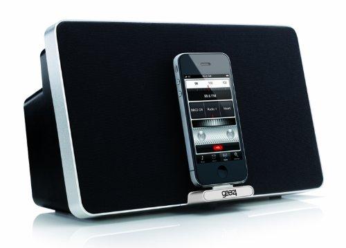 GEAR4 Houseparty 4 Evo - Altavoz con puerto dock para Apple iPod y iPhone, color...