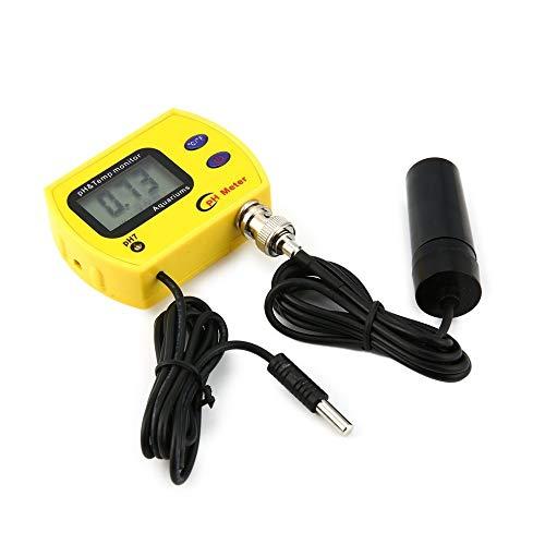 Multi-Funktions-Lineal PH-Meter mit Hintergrundbeleuchtung pH-991 Tester Durable Acidimeter Werkzeug Temp Monitor for Aquarium schwimmen Beckenwasser Haushalts Herrscher