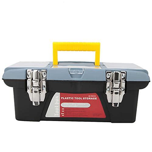 Cassetta porta attrezzi Box portautensili portatili Organizzatori e strumenti di riparazione hardware di archiviazione Contenitore con manico Cassa elettrica per la manutenzione della famiglia Cassett