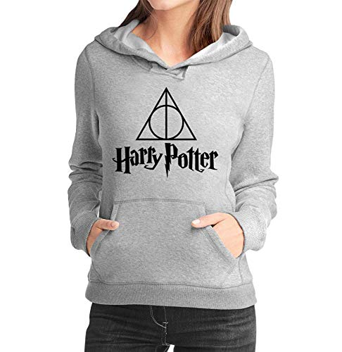 Moletom Criativa Urbana Relíquias da Morte Harry Potter Casaco Blusa - Feminino