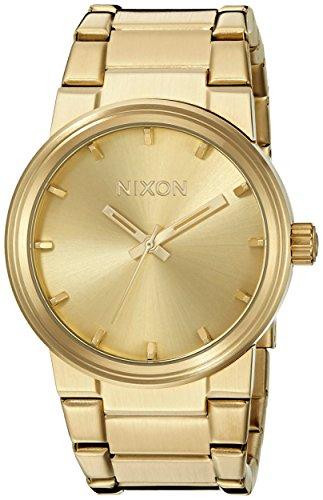Nixon Herren Analog Quarz Uhr mit Edelstahl Armband A160502-00