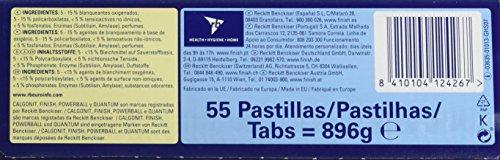 Finish Todo en 1 Original Lavavajilllas Pastillas Limón 55