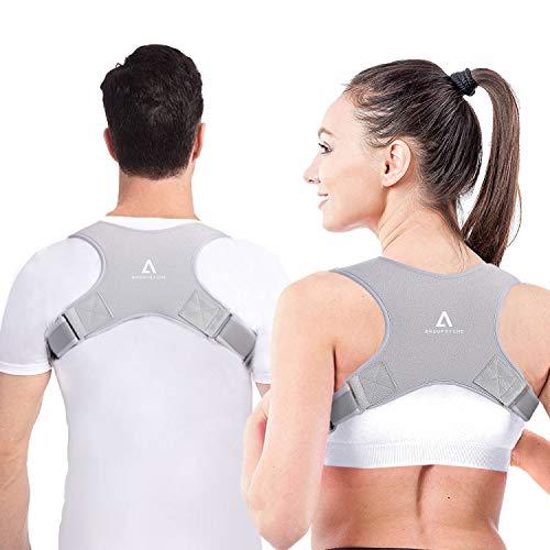 Anoopsyche Posture Corrector for Women Men, Adjustable Upper Back Brace for...