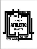 【FOX REPUBLIC】【NYC ニューヨーク ブルックリン】 白マット紙(フレーム無し)A3サイズ