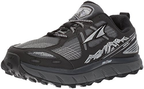 Altra Women's Lone Peak 3.5 Running Shoe, Black, 12 B US
