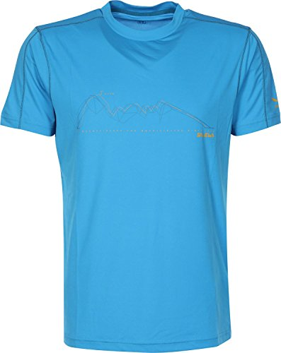 Salewa sassolungo Dry m Chemise à Manches Courtes Taille XXXL Bleu - Davos
