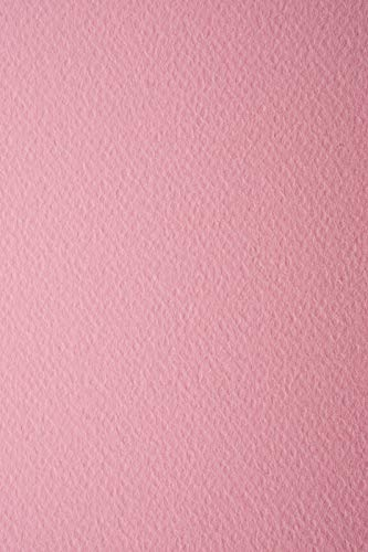 10 Blatt Rosa 220g Tonkarton einseitig strukturiert DIN A4 210x297 mm Prisma Rosa Fotokarton mit Struktur Karten-Karton mit Textur farbig A4 Bastel-Karton bunt strukturiert