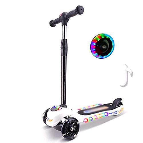 Joy Kinder Roller 3 Rad Tretroller Fuß Roller Skateboard Front LED Blink Rad Musik Funktion Kinder Outdoor Sport Spielzeug