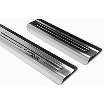 tuning-art EX128 Edelstahl Einstiegsleisten Set Farbe:Silber