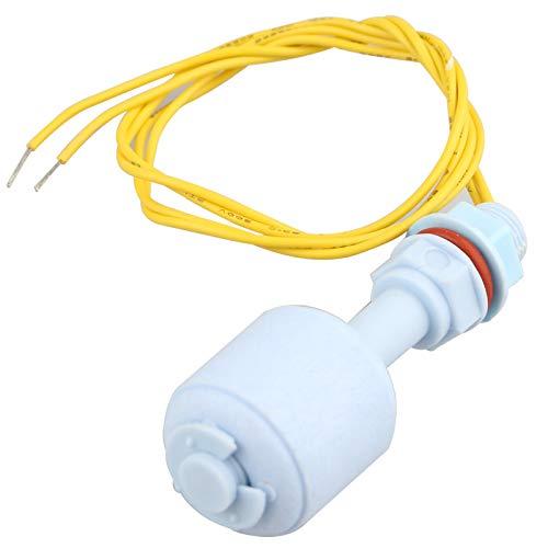 HALJIA ZP5210 Aquarium-Mini-Flüssigkeits-Wasserstandssensor, vertikaler Schwimmerschalter für Tank, Flüssigkeit, Wassersensor, Schwimmschalter, L = 52 mm