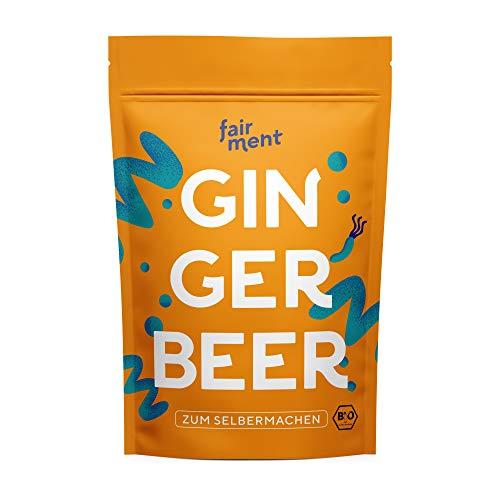Fairment Ginger Bug bio - Ginger Beer Starterkultur - Ingwerbier einfach selber machen