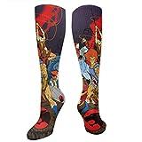 ARCHIERICHARDS Thundercats Animated Series Lion O Sport Sock Novelty Socks Long Socks Crew Socks Dress Socks Running Baseball Socks for Women & Men Casual Socks Soccer Socks