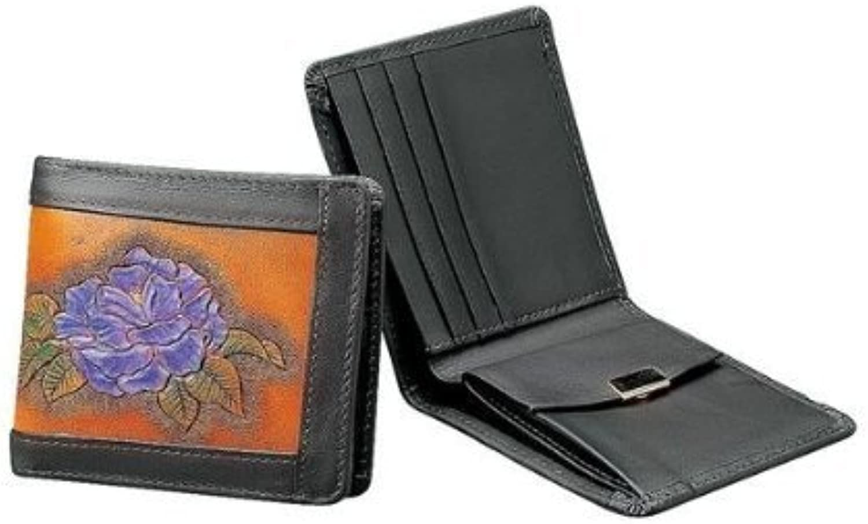 marcas de moda Craft Producto semiacabado para artesanía artesanía artesanía de Cuero Tipo Inserto Billetera 9 x 10,5 cm marrón Oscuro  calidad auténtica