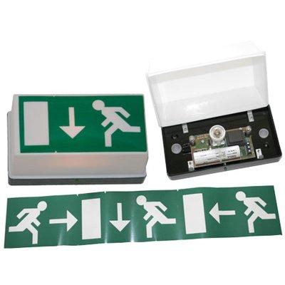 LED Notbeleuchtung Notausgang / Rettungsweg / Rettungsschild / Fluchtweg / Rettungszeichen