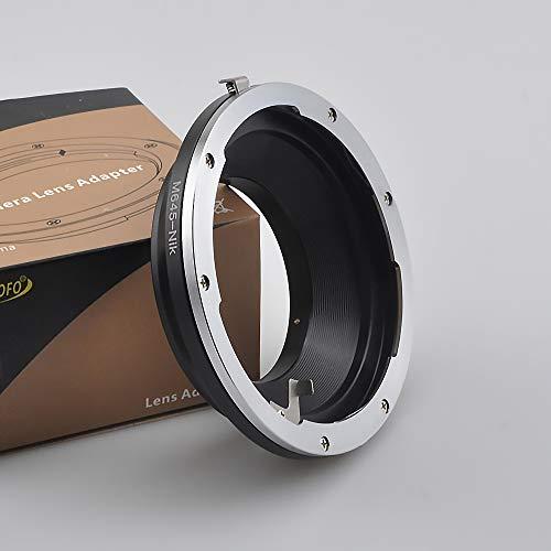 Kompatibel mit Mamiya 645 Objektiv auf Micro Four Thirds M4/3 GF6 und für Sony NEX E Kamera A7, A7R, NEX-7 und Fuji X-Mount XF X und für Nikon F Kamera und Canon EF Kamera, Mamiya 645 to Nikon adapter