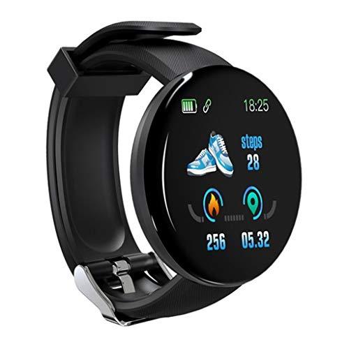 IPOTCH Smart Watch Training Recorder Mensaje Recordatorio BT 4.0 Pulsera - a Estrenar - Negro