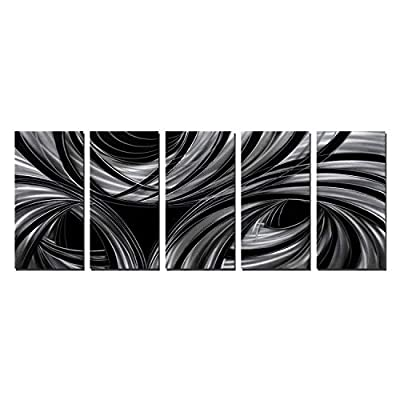 Abstract Metal Wall Art from Nordic Sky Art