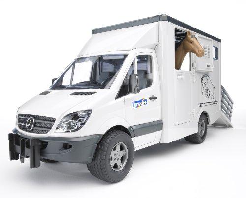 Bruder-02533 peliculas y TV Mercedes Benz Sprinter para