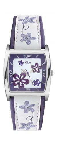s.Oliver Damen-Armbanduhr SO-1944-LQ