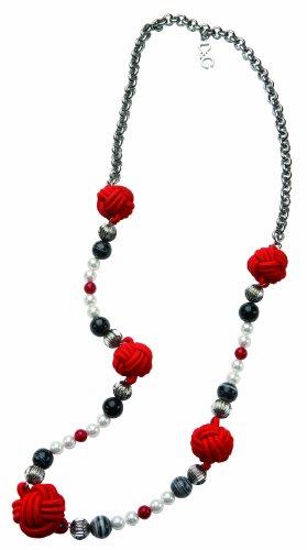 Dolce & Gabbana Jewels D&G Geisha SS Necklace RED/Black Beads DJ0862
