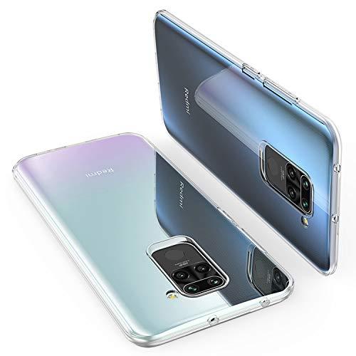 """ORNARTO Capa Crystal Clear Xiaomi Redmi Note 9, Capa Transparente Flexível e Macia TPU Macia e Protetora Extremamente Fina para Xiaomi Redmi Note 9 (2020) 6,53 """""""