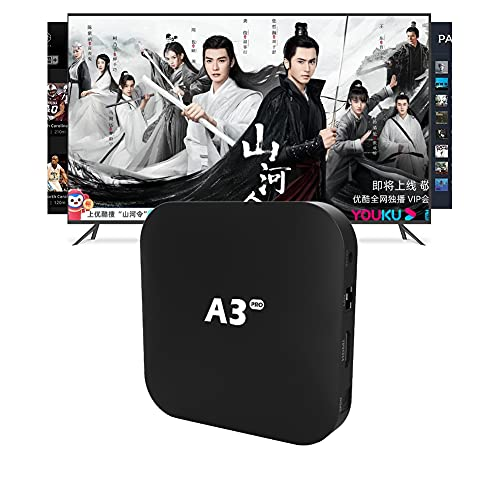 A3box Pro 2021 华语机顶盒 CN Box 最新三代 China/Hongkong/Taiwan电视 精心挑选的影视TV剧集 More HD/Clear& Stable