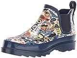 The Sak Women's Sakroots Rhyme Ankle Rainboot Rain Boot, Clay Echanted Forest, 8 Medium US