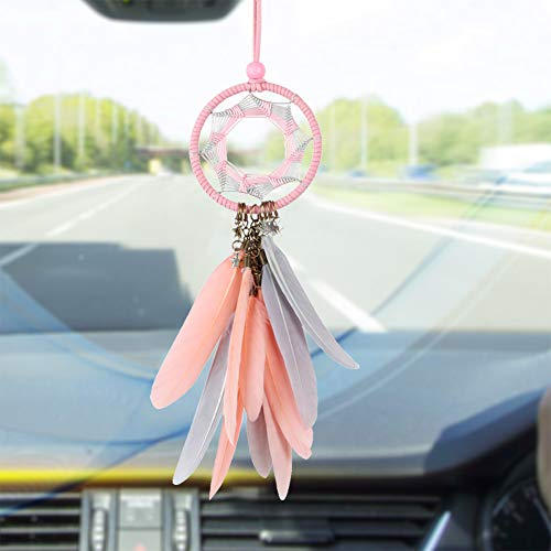 car hanging dream catcher