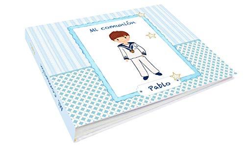 Libro comunión niño modelo marco Pablo