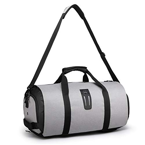 CNMF Kledingzak, draagpak kledingzakken voor mannen en vrouwen, 2-in-1 hangende koffer organisator reistas zonder vouwen kleding/jurk