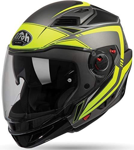 Airoh Unisex– Erwachsene Executive Line Helmet, Gelb, M