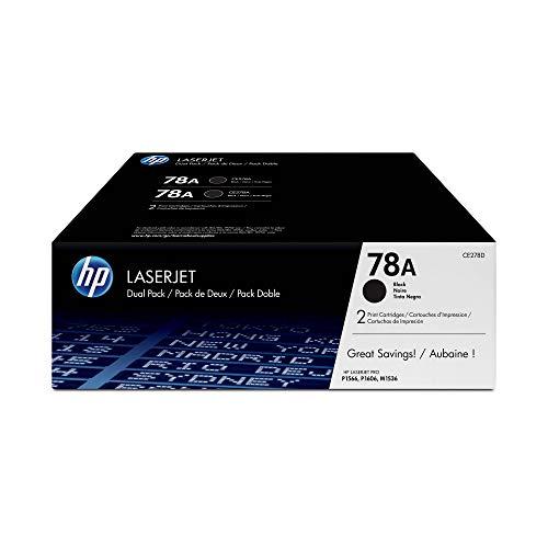 HP 78A Schwarz 2er-Pack Original...