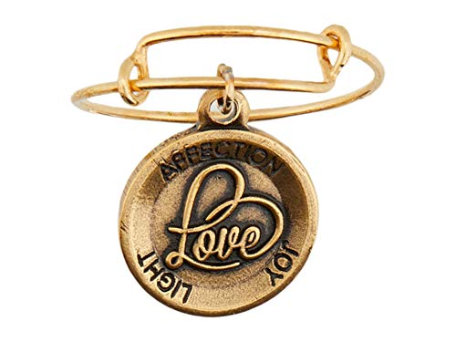 Alex and Ani Expandable Ring Love One Size