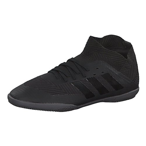 Adidas Nemeziz Tango 18.3 IN J, Zapatillas de fútbol Sala Unisex niño, Negro (Negbás/Negbás/Ftwbla 000), 28 EU