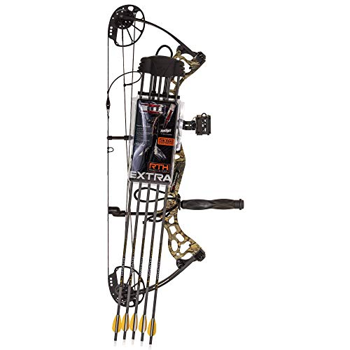 Karnage Dynamic Ready to Hunt Compound Bow in God's Country Finish with Extra Accessories (AV02X21027R)