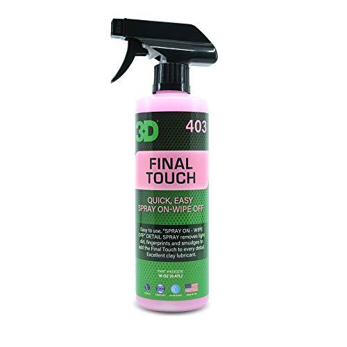 Final Touch 710ml - Toque Final, producto para quitar restos de huellas, pulimento, ceras. dejando un brillo profundo