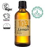 Naissance Zitronenöl (Nr. 103) 100ml 100% naturreines ätherisches Öl