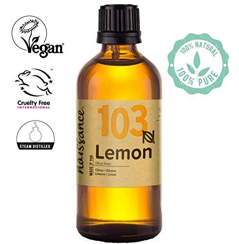 Naissance Aceite Esencial de Limón - 100ml - 100% puro, vegano y no OGM
