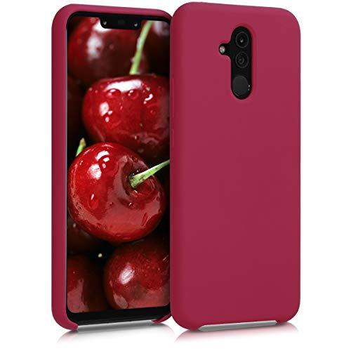 kwmobile Custodia Compatibile con Huawei Mate 20 Lite - Cover in Silicone TPU - Back Case per Smartphone - Protezione Gommata Fucsia Matt
