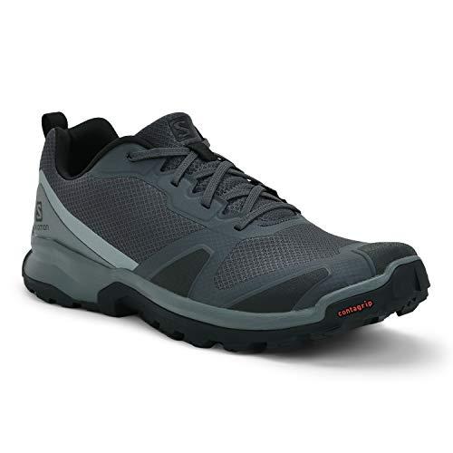 Salomon Herren Trail-Running-Schuhe, XA COLLIDER, Farbe: Grau (Ebony/Black/Stormy Weather), Größe: EU 42