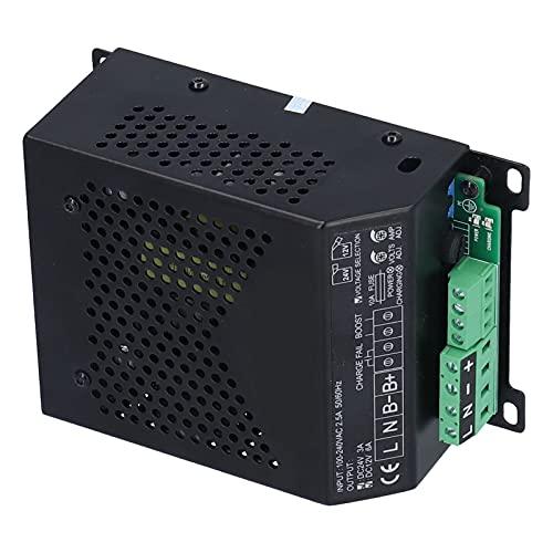 Gaeirt Cargador de batería Inteligente para generador, Cargador de batería de Grupo electrógeno de Rendimiento Estable para Paquete de batería de 12V