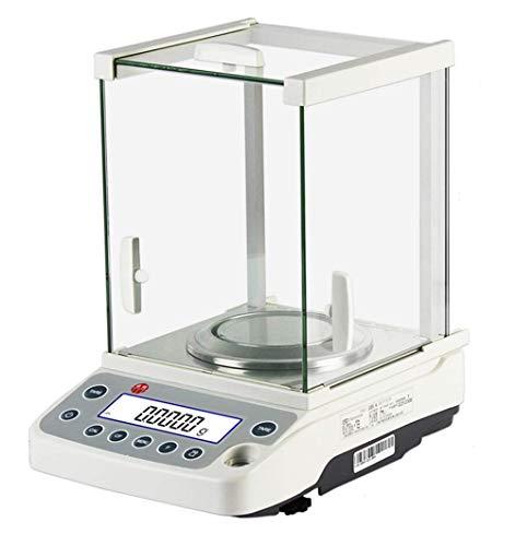 Chutd Analytische weegschaal, digitaal, nauwkeurig, 120 g/0,1 ml, voor laboratorium/apothekers/sieraden/chemisch/school