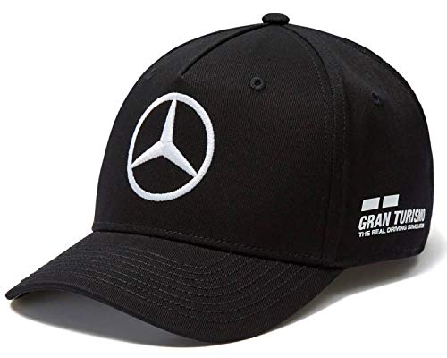 Mercedes AMG F1 Team Driver Puma Hamilton Baseball Gorra Negro Oficial 2018