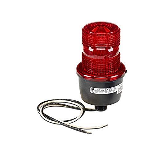 Low Profile Warning Light, Strobe, Red,