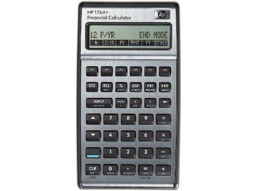 Hewlett Packard HP17BIi+ - Calculadora Financiera, color negro
