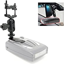 AccessoryBasics Car Rearview Mirror Radar Detector Mount Holder for Whistler Radar Detector (CR65 CR 70 CR75 CR80 CR85 CR90 CR93 Pro DE17xx All XTR) Require min.of 1
