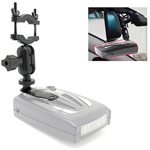 AccessoryBasics Car Rearview Mirror Radar Detector Mount Holder for Whistler Radar Detector (CR Series & All XTR). Require at Least 1' Clear Stem Space to Install!