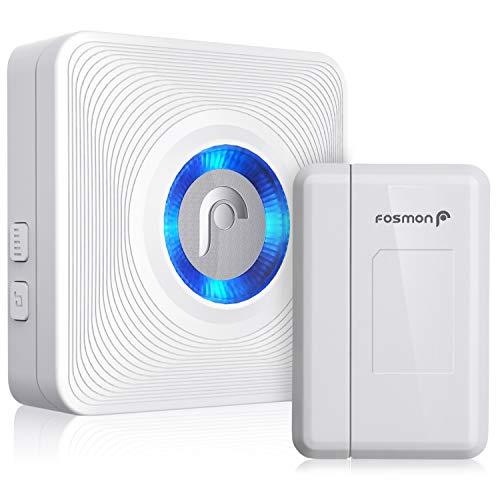 Fosmon WaveLink 51004HOM Wireless Door Open Chime (500 Feet, 52 Tunes,...